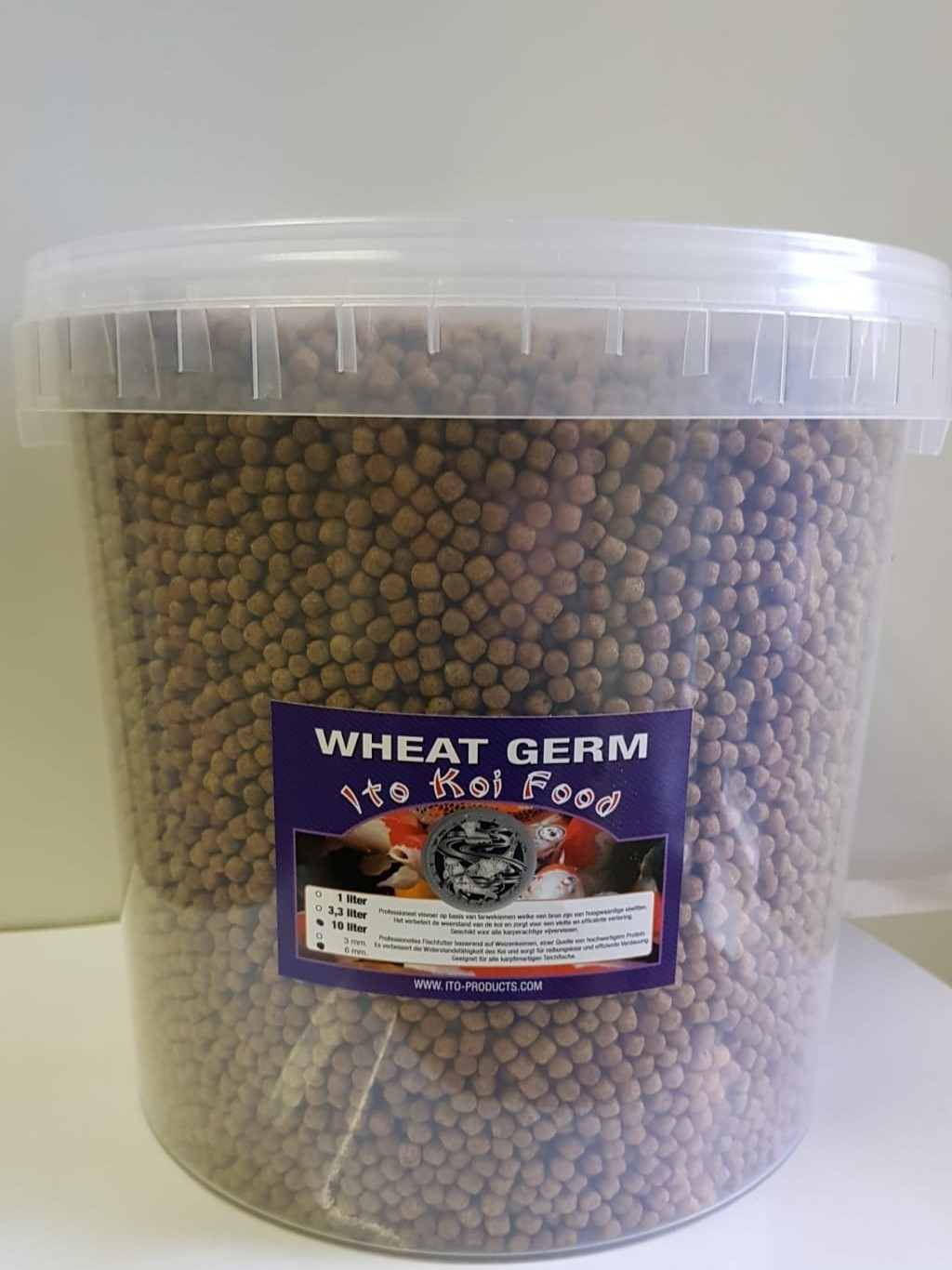 ITO Koi Voer Wheat Germ 6mm 10 liter